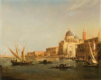 canale grande in venice by axel herman haig