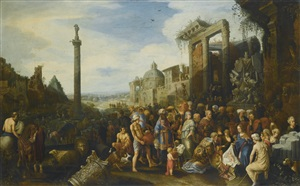 the adoration of the magi by willem van nieulandt the younger