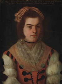 portrait of maría ignacia moreno barrios (born 1776) by josé de alcibar