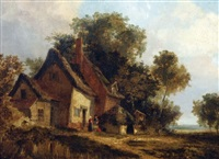 a norfolk cottage by george vincent