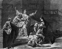 scène de l'histoire ancienne by jacques françois amand