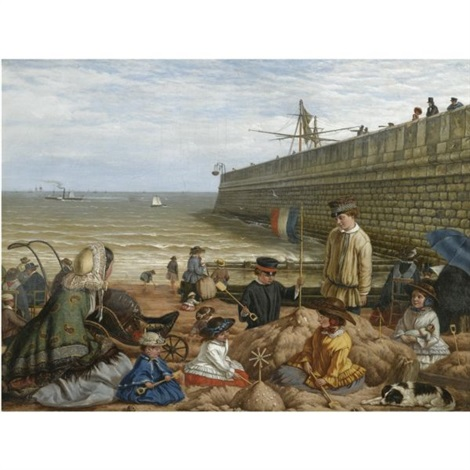 on the english coast by frederick ifold
