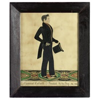 profile portrait of richard colbath by joseph h. davis