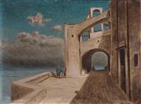 paesaggio di pegaso by alberto savinio