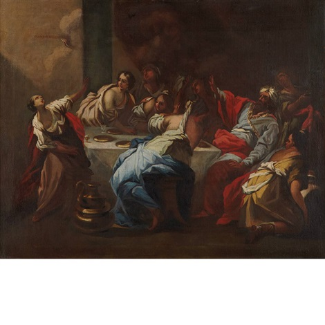 beshazzars feast by ranieri del pace