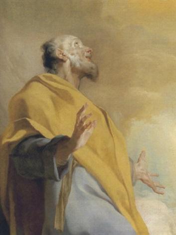 der heilige petrus  by giuseppe antonio petrini