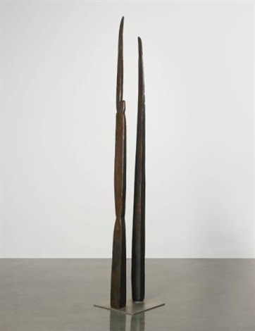 knife couple by louise bourgeois