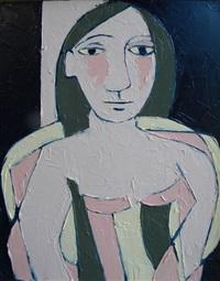 picasso-ish portrait by tj walton