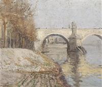 podzimní karlův most by milos jiranek