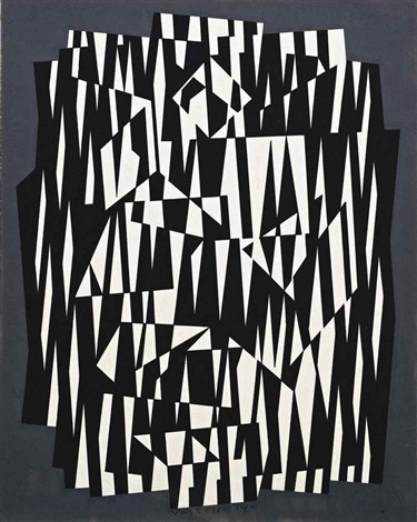 calcis j by victor vasarely