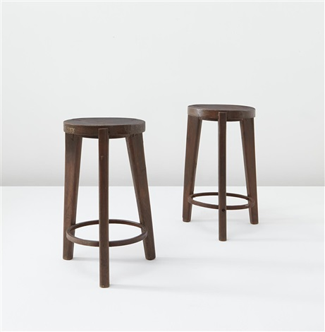 stools from punjab university chandigarh india model no pj si 22 a 2 works by pierre jeanneret