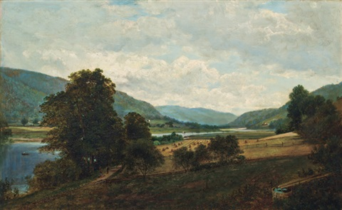 study of the delaware at hancock by david johnson