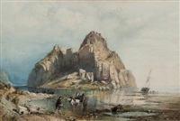 dumbarton castle by william collingwood smith