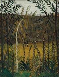 l'entrée de la forêt by alphonse léon quizet