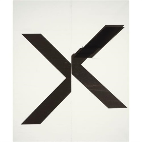 untitled by wade guyton