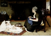 motherhood by david adolf constant artz