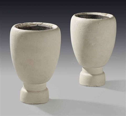 vases pair by alberto giacometti
