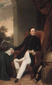 portrait of a gentleman by george duncan beechey