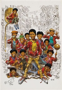 the wanderes by jack davis