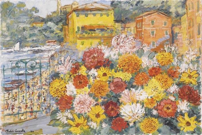 Fiori sul terrazzo by Michele Cascella on artnet