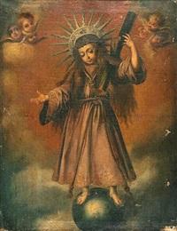 christ as salvator mundi by miguel cabrera