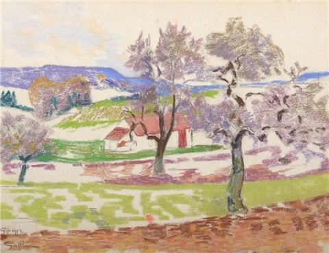 paysage à gif by armand guillaumin