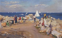 afternoon on the massachusetts coast by joseph newman