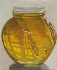 jar of honey by janet fish