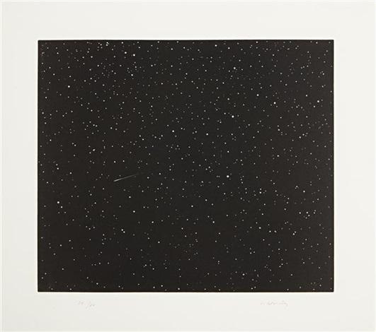 comet (from skowhegan suite) by vija celmins