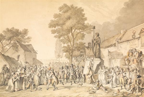 fête de la vieillesse fructidor an iii by pierre alexandre wille