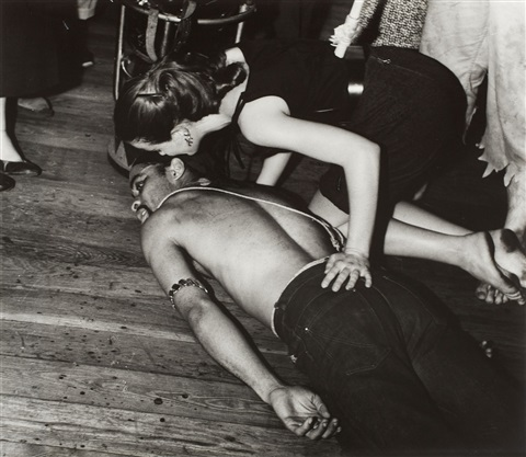 party victim by weegee