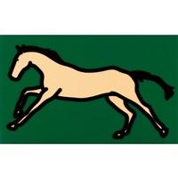 galloping horse 2 by julian opie