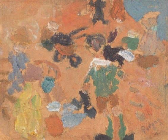 la plage denfants by jean pougny