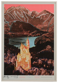 neuschwanstein by andy warhol
