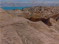 the nebi musa, the dead sea and the moab hills by thomas cantrell dugdale