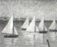 sail regatta by tracy hoppin