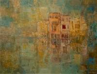venetian canal scene by frank sydney spears