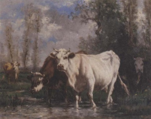 normandy pasture by marie dieterle