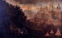 asedio al castillo por los turcos by austrian school-vienna (17)