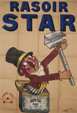 kampfe bros rasoir star by albert jarach chambry