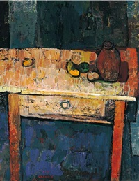 still life on the table by yoshio chang