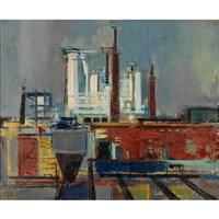 rooftops, new york by joseph floch