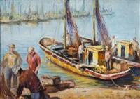 retorno de la pesca by oscar antonio vaz