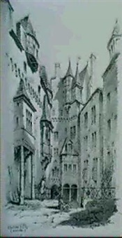 chateau d'elz, moselle by alfred koechlin-schwartz