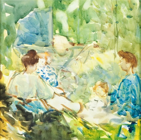 the picnic by frances mary hodgkins