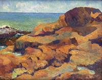 untitled (gloucester coast) by allan randall freelon