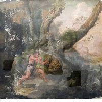 hercules and the lion by flemish school (17)