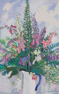foxgloves by shona mcfarlane