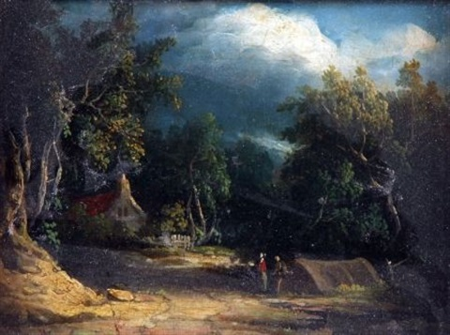 gyspsy encampment by edward charles williams