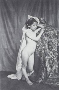étude de petite fille nue by eugène (jean louis marie) durieu